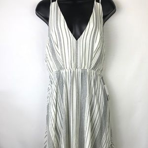 NWT BP Striped Strappy Summer Dress